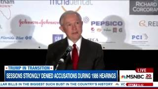 MSNBC Warns Jeff Sessions Will Dismantle Civil Rights Free HD Video