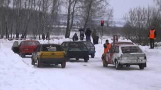 Автокросс 1этап п. Нарышкино 16.02.2013