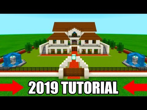 Minecraft Tutorial: How To Make A Mansion 2019 Tutorial