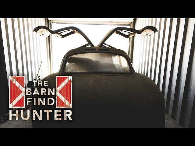 Prototype Gullwing found in storage unit! | Barn Find Hunter  - Ep. 32