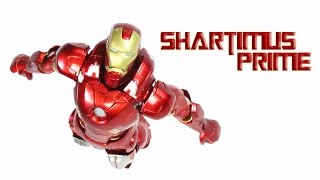 Figma Iron Man Mark 7 VII The Avengers Movie Max Factory Action Figure Review
