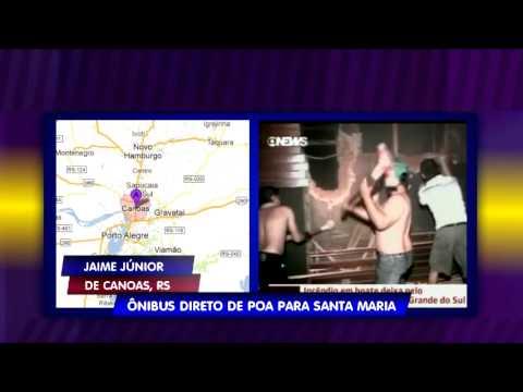 Time News: Rodoviária de Porto Alegre disponibiliza ônibus direto pra Santa Maria