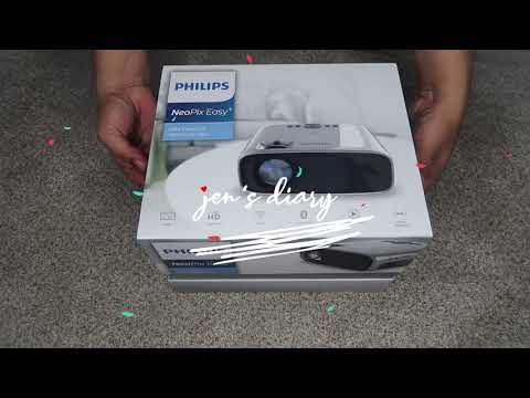Philips NeoPix Easy+ Mini Projector Unboxing