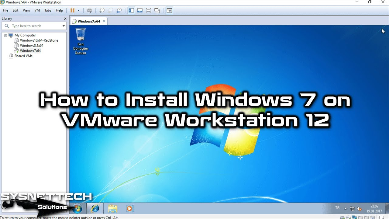 download windows 7 iso for vmware