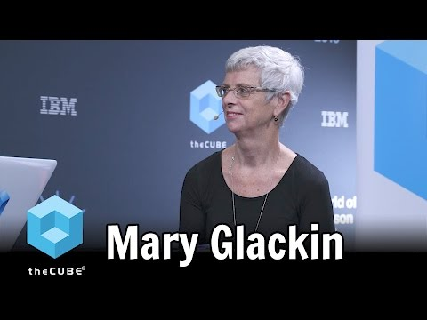 Mary Glackin, The Weather Company - IBM World of Watson 2016 #ibmwow #theCUBE