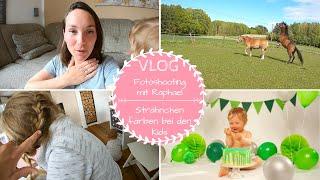 Fotoshooting | Treffen mit mir |Kinder Haare färben |VLOG |Kathis Daily Life