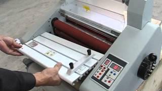 desktop laminator, electric hot laminator. heated roll laminator