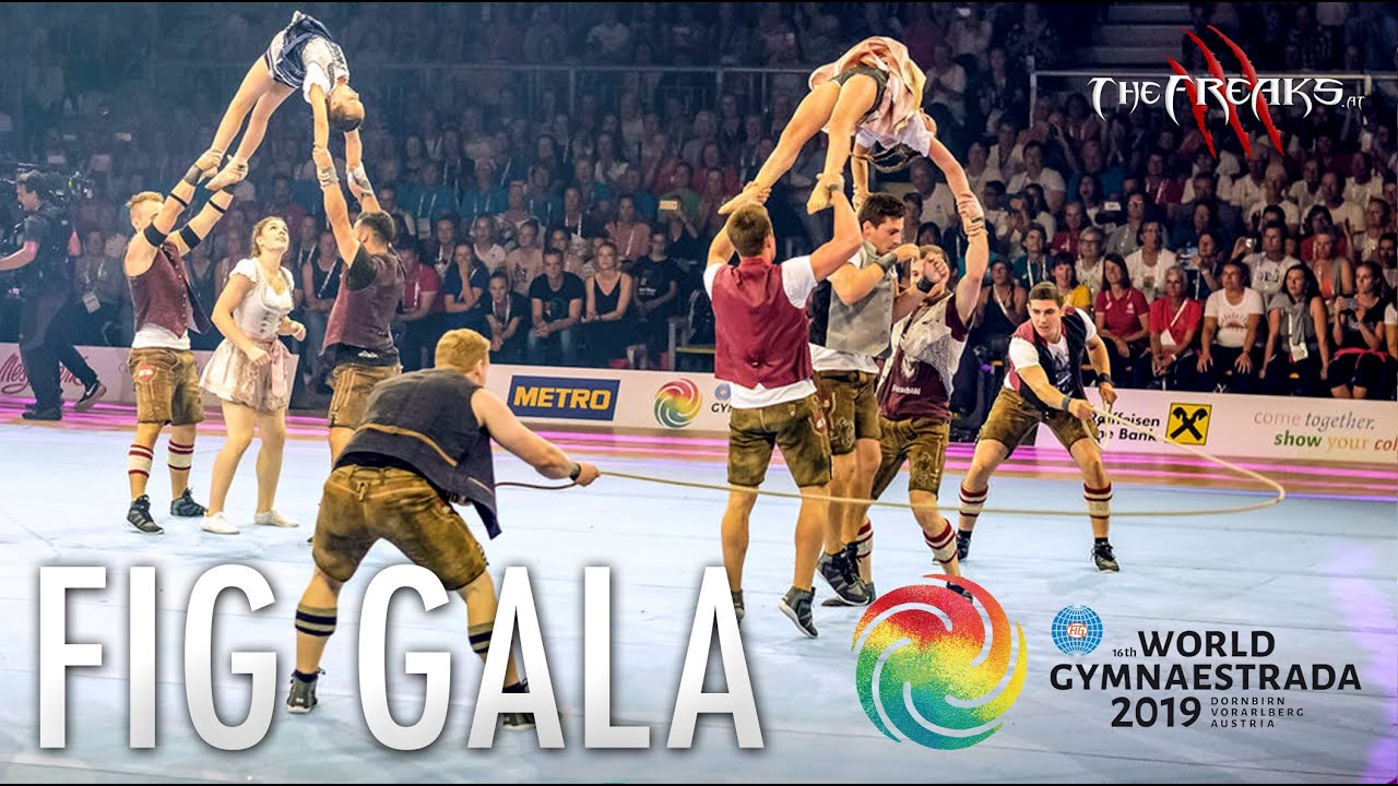 THE FREAKS - Gymnaestrada - FIG Gala 2019 (ORF TV)
