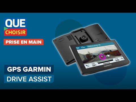 gps garmin drive assist avec cam ra prise en main. Black Bedroom Furniture Sets. Home Design Ideas