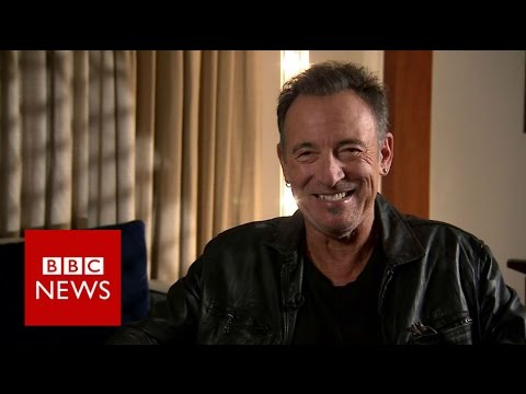 Bruce Springsteen: Interview with The Boss - BBC News