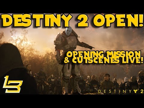 Destiny 2 - Opening Mission! EPIC! First Impressions.