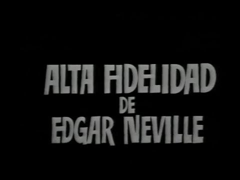 Estudio 1 - Alta fidelidad de Edgar Neville 1975