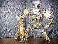 Робот ХУЕНОС игрушка своими руками Видео 1 .1