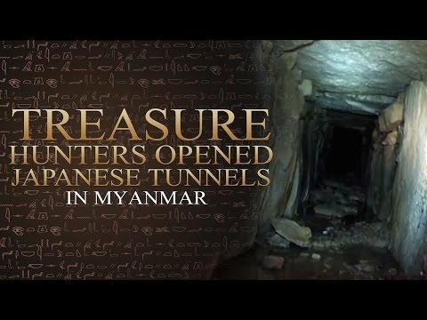 Yamashita Philippines - Treasure Hunters Opened Japanese Tunnels