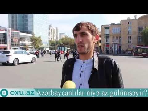 Azərbaycanlılar niyə gülümsəmirlər?