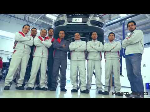 Inauguración de planta Audi en Puebla