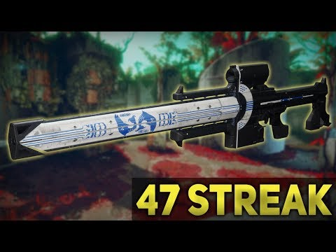 Izanagi's Burden Sniper 47 Streak 50+ Defeats [Live] Destiny 2 Black Armory thumbnail