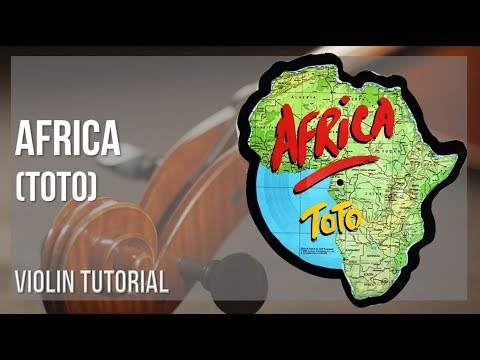 How to play Africa by Toto on Violin (Tutorial)