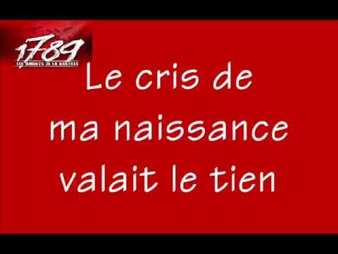 1789, Les Amants de la Bastille - Le Cri de ma Naissance