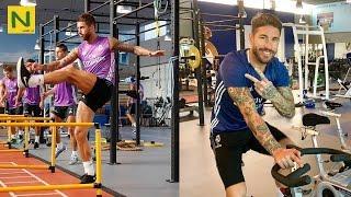 S・ラモスのフィジカルトレーニング 身体能力抜群のディフェンダー | Sergio Ramos workout | thumbnail