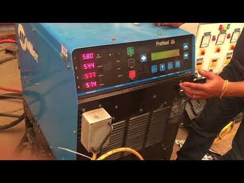 Seting Miller Proheat35