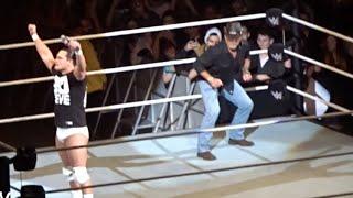Shawn Micheals Superkicks Bo Dallas || WWE LIVE Melbourne Australia