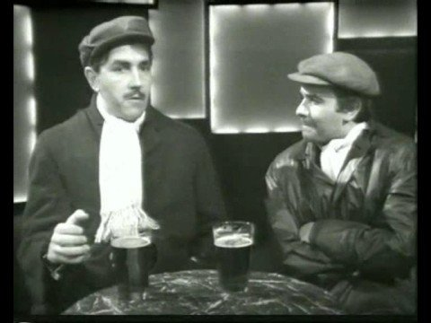 Peter Cook & Dudley Moore In the pub