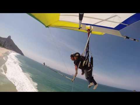 AMAZING RIO DE JANEIRO BRAZIL HANGGLIDING FAVELA TRAVEL TOURISM