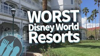 The WORST Walt Disney World Resorts! thumbnail