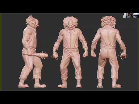 3D Printing for ZBrush Artists Workshop - Spring 2017
