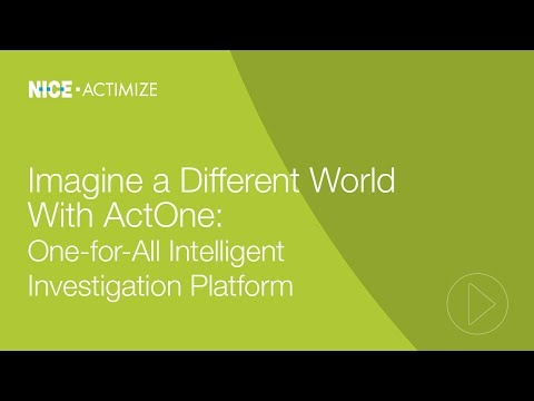 Imagine a Different World with ActOne