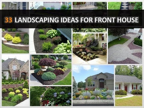 33 Low-Maintenance Landscaping Ideas for Front House - DecoNatic