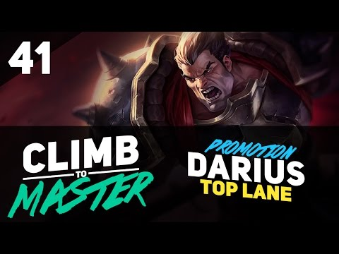 Promo Series DARIUS - Climb to Master - Episode 41
