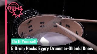 Download lagu 5 Drum Hacks Every Drummer Should Know