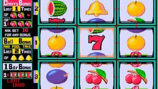 체리 마스터 (1991) 게임 하기 7 - Cherry Master 7th Game play