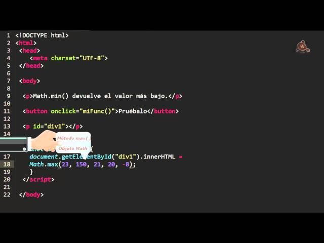22.- Curso de JavaScript para principiantes. Operaciones matemáticas con el objeto Math.
