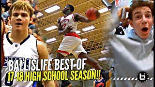 Ballislife BEST Plays of 17-18 HS Season aka Mac McClung & Zion Trying To OUTDO Each Other!