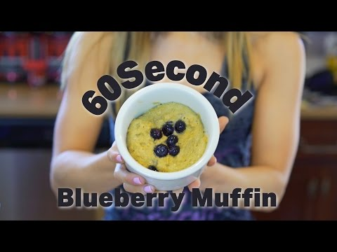 60 Second Protein Blueberry Muffin with Kara Corey | Tiger Fitness