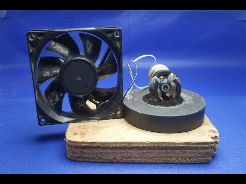 100% Free Energy fan Device work 100% - using Magnet Exhibition Projects 2018