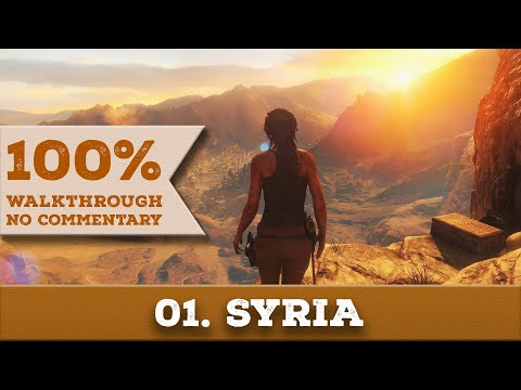 Rise of the Tomb Raider Walkthrough [1440p] (100% Completion, Survivor) part 1 SYRIA