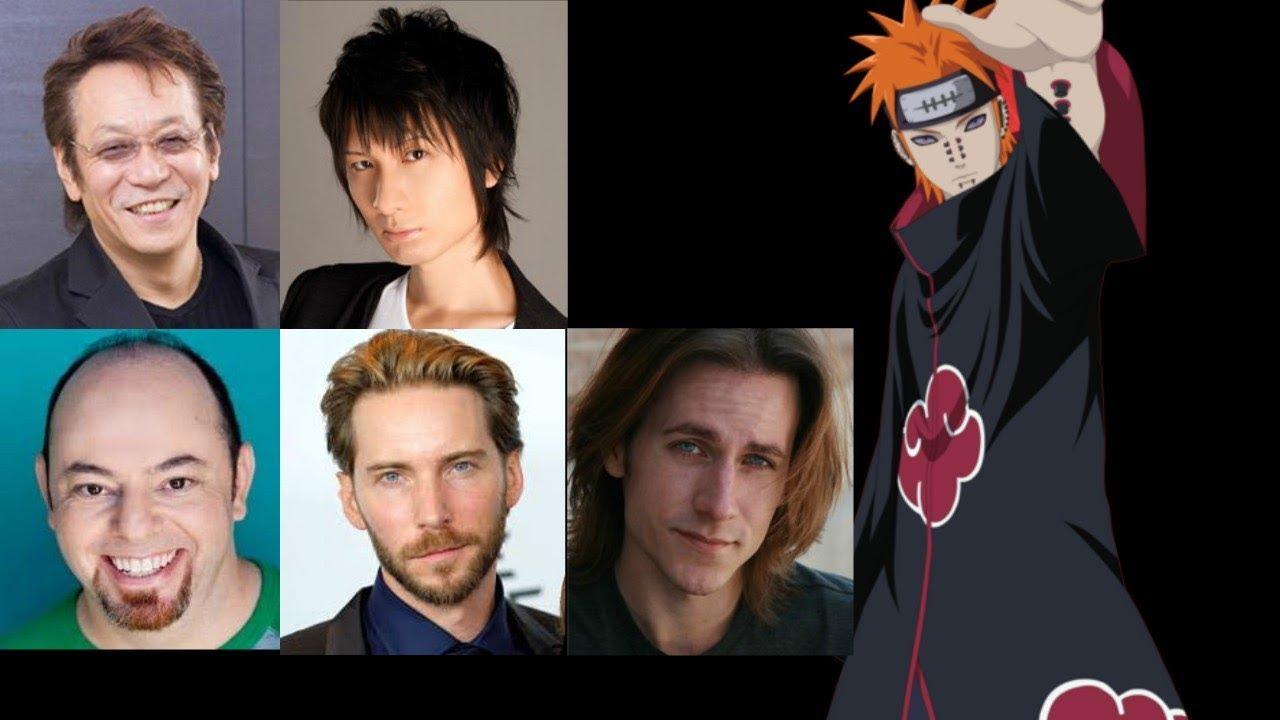 Anime Voice Comparison Pain Naruto Youtube
