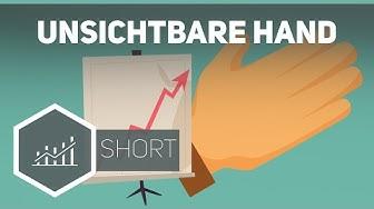 Die Unsichtbare Hand - Selbstregulierung des Marktes nach Adam Smith ● Gehe auf SIMPLECLUB.DE/GO