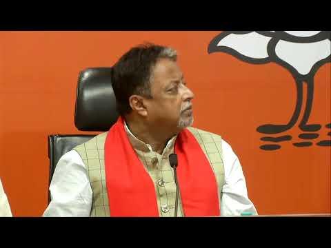 Former Mayor of Kolkata & TMC MLA, Sovan Chatterjee join BJP