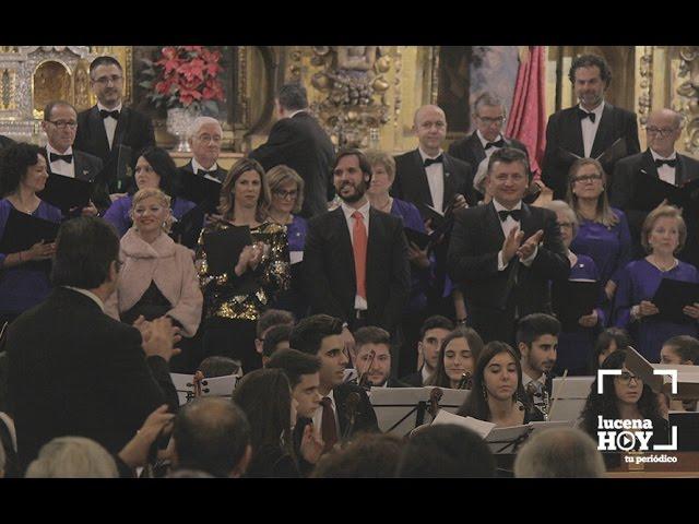 Vídeo: Estuvimos en el Concierto de Navidad de la Coral Lucentina y la Orquesta del Conservatorio