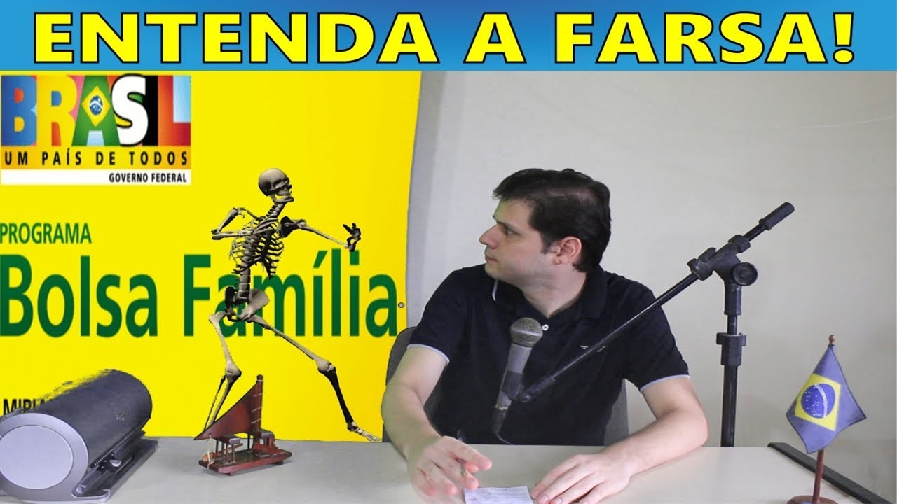 Lula deu renda ao pobre com Bolsa Família - Entenda a farsa!