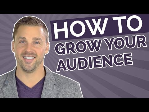 How to Grow Your Audience (5 Step Marketing Strategy)
