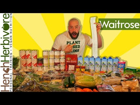 Epic Waitrose Vegan  Supermarket Haul | In For A Shock