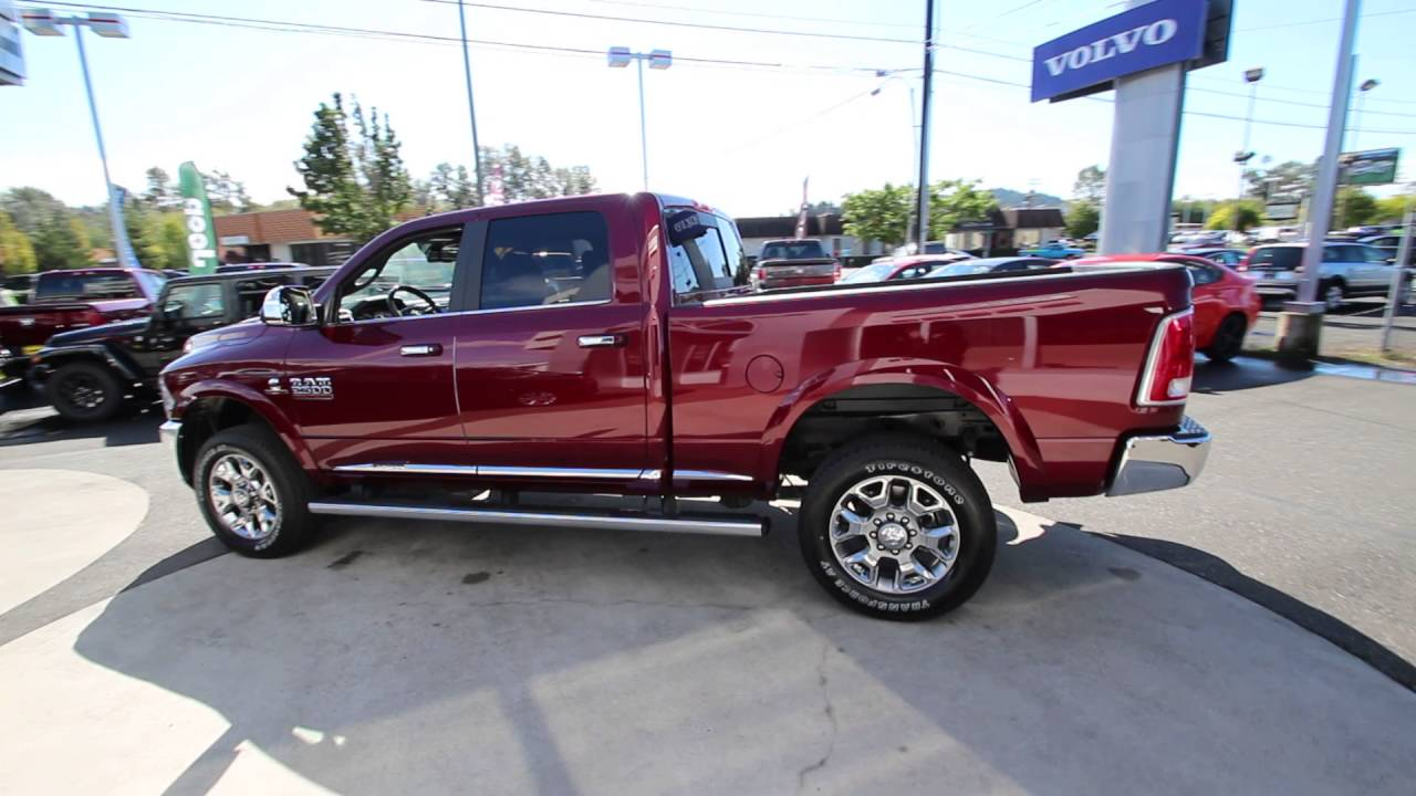 2016 dodge ram 2500 laramie longhorn delmonico red. Black Bedroom Furniture Sets. Home Design Ideas
