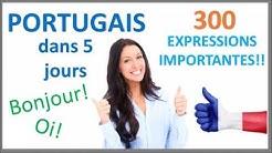 Apprenez le portugais en 5 jours - Conversation pour les débutants