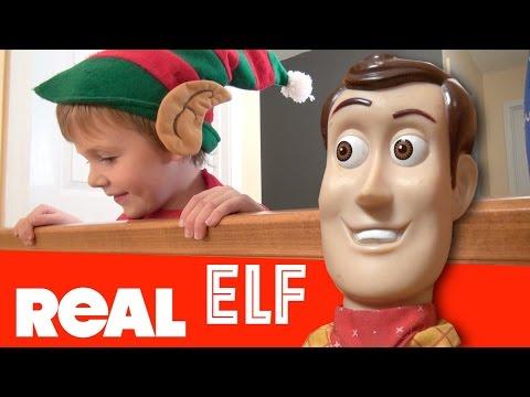 Toy Story 4 | Elf On The Shelf is ALIVE | Woody Buzz Christmas Story Pixar Disney